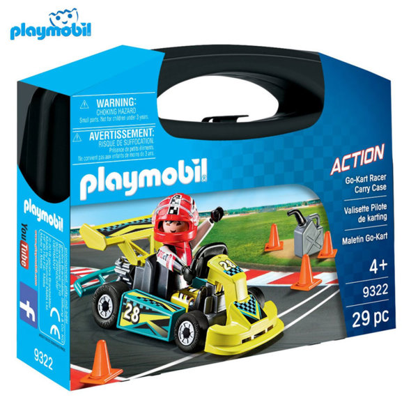 Playmobil Картинг в куфарче 9322