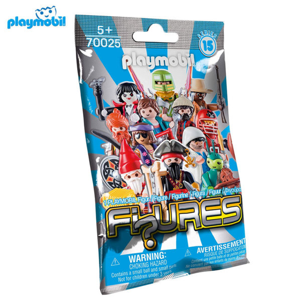 Playmobil Серия 15 Случайна мини фигурка момче 70025