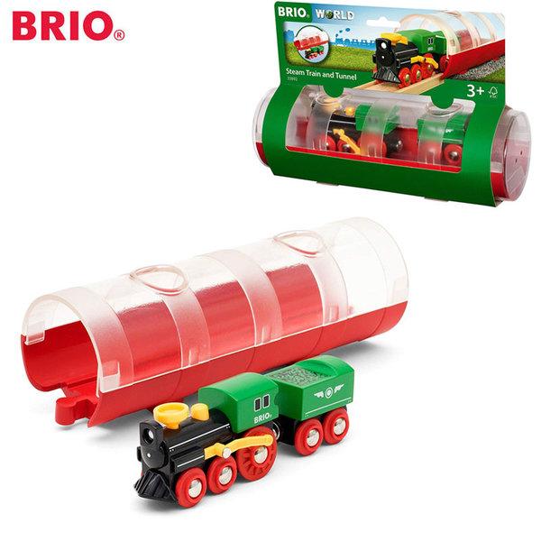 Brio Парен локомотив с тунел 33892