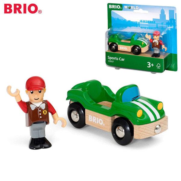 Brio Спортна кола с човече 33937