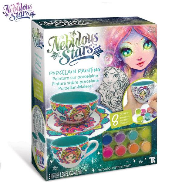 Nebulous Stars Нарисувай порцеланов сервиз за закуска Коралия 11301