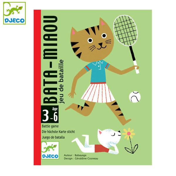Djeco Детска игра с карти Bata Miaou DJ05139