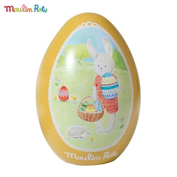Moulin Roty Великденско яйце за изненади Зайчето Силвен 632233