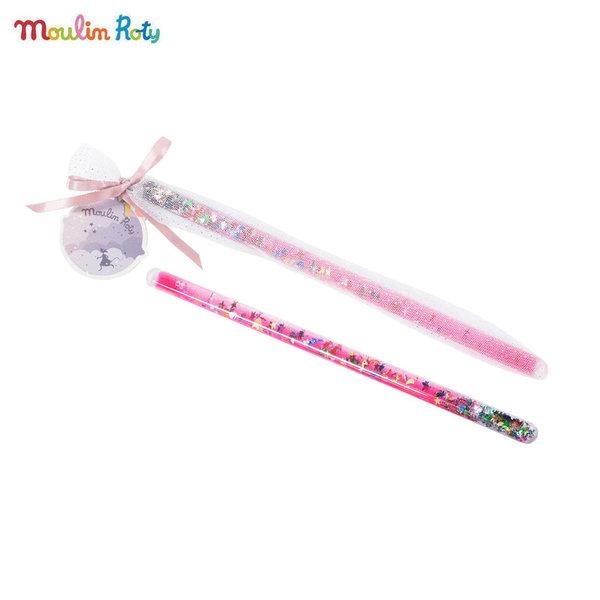 Moulin Roty Магическа пръчица в розово 711370