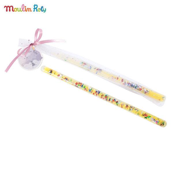 Moulin Roty Магическа пръчица в жълто 711372