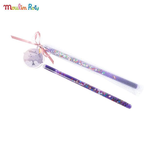 Moulin Roty Магическа пръчица в лилаво 711371