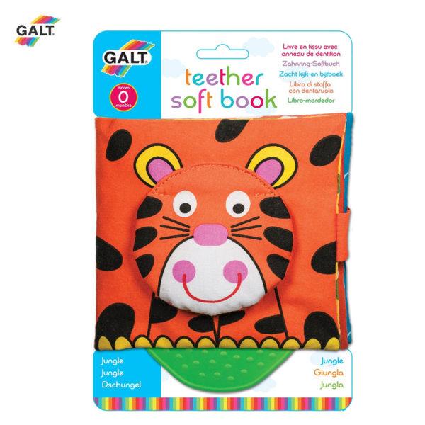 GALT Мека книжка с гризалка джунгла 1005110