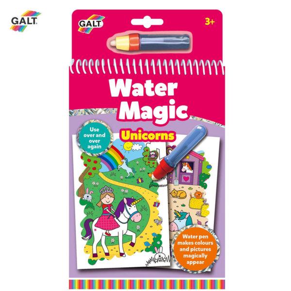 GALT Книжка за рисуване с вода Еднорози  1005152