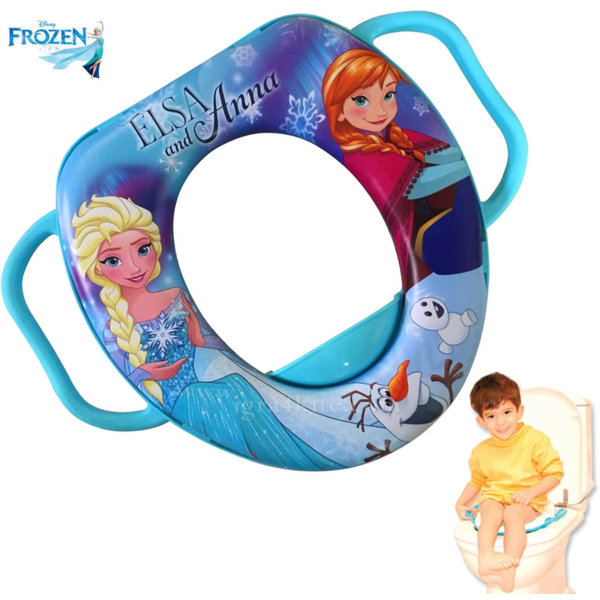 Disney Frozen Детска дъска за тоалетна чиния Замръзналото кралство 73419