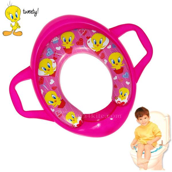 Looney Tunes Tweety Детска дъска за тоалетна чиния Туити 10358
