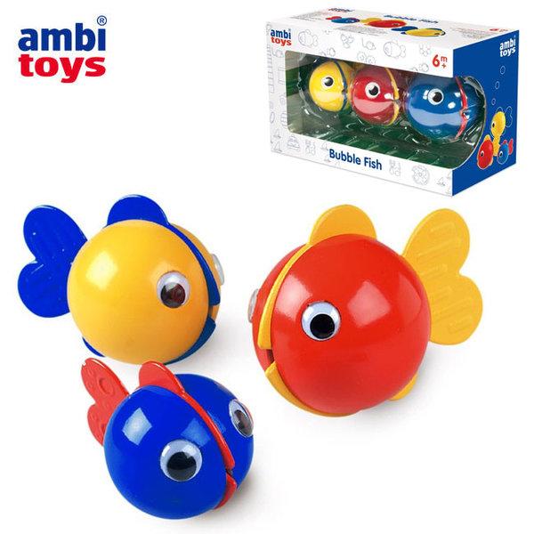 Ambi Toys Играчка за баня Рибки за балончета 31169