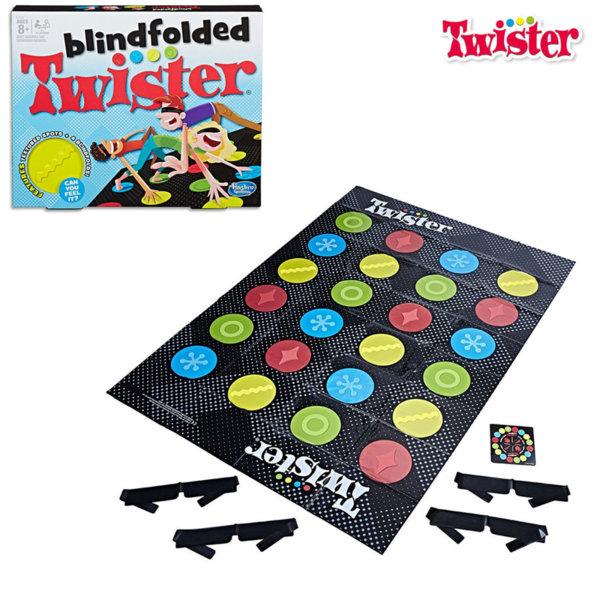 Hasbro Twister Blindfolded Детска игра Туистър със завързани очи E1888