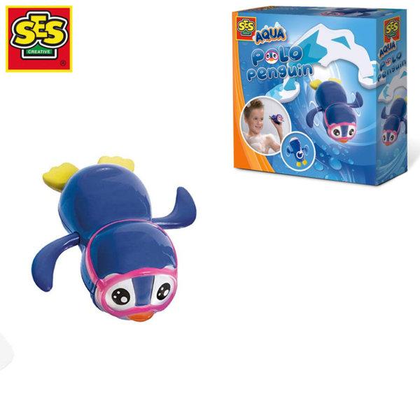 SES Creative Играчка за баня Плуващ пингвин 13076