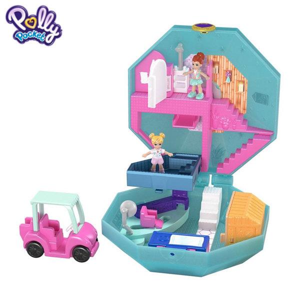 Polly Pocket Комплект за игра Светът на Поли Спа център FRY35