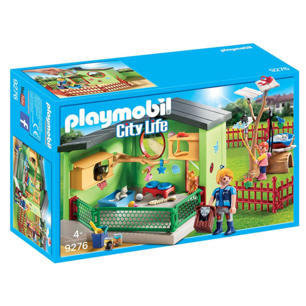 Playmobil Помещение за котета 9276