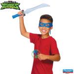 TMNT Костенурките нинджа Комплект оръжие с маска Leonardo 82050