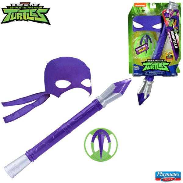 TMNT Костенурките нинджа Комплект оръжие с маска Donatelo 82050