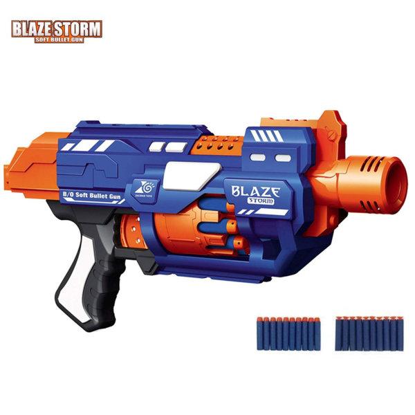 Blaze Storm Бластер с барабан и стрели 7033