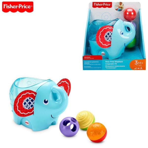 Fisher Price Слонче с цветни топки DYW57