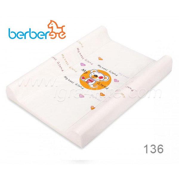 Berber Подложка за преповиване Dino Мече 80см 136