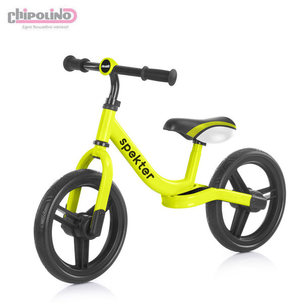 Chipolino Балансиращо колело Спектър неон зелен