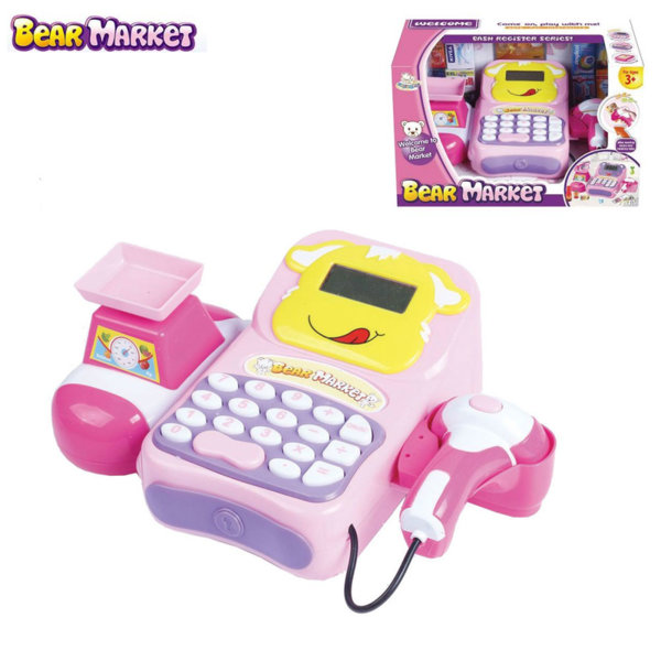 Bowa Детски касов апарат Bear Market LT8801