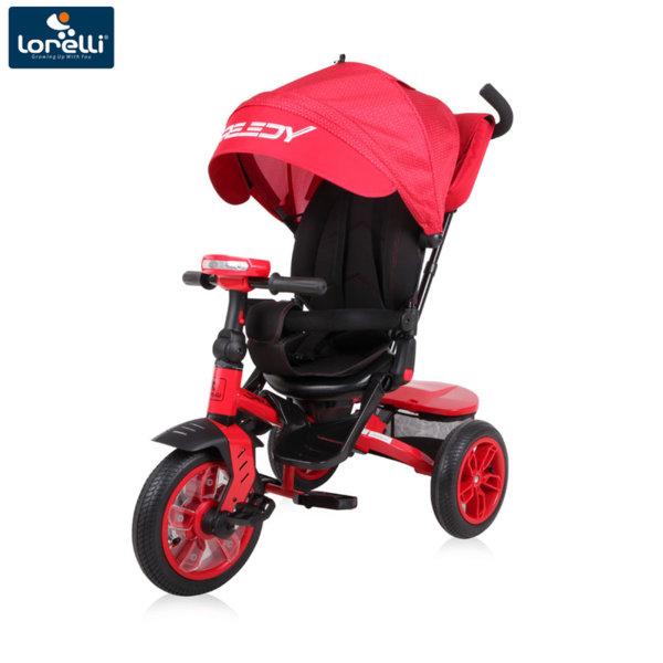 Lorelli Триколка с родителски контрол SPEEDY Red&Black 10050430003