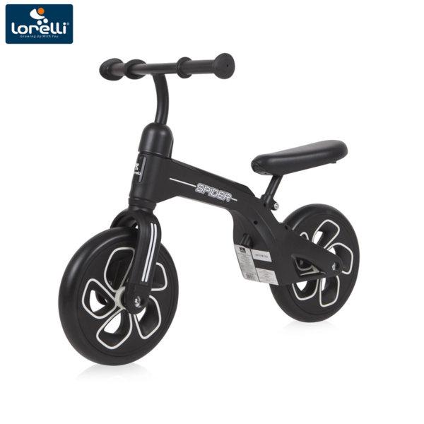 Lorelli Детско колело за баланс SPIDER Черно 10050450009