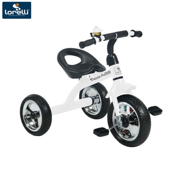 Lorelli Детско колело триколка A28 бяло/черна 10050120007