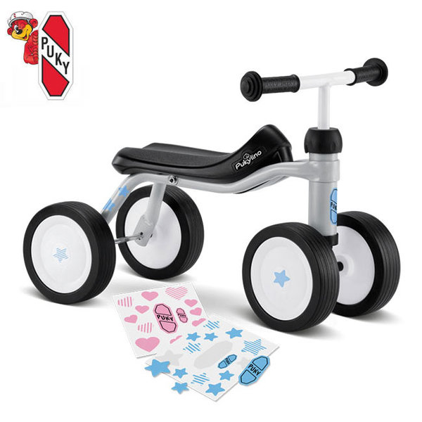 Детскo колело Puky Pukylino 1½+ светло сиво 3015