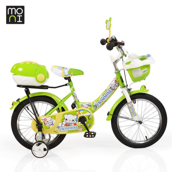 """Moni Детски велосипед 16"""" 1682 зелен 100997"""