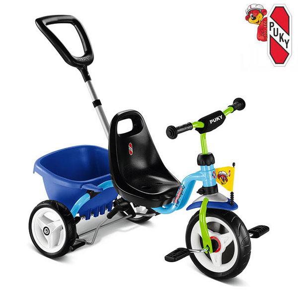Puky Колело триколка Cat 1 S Синьо/Киви 2226
