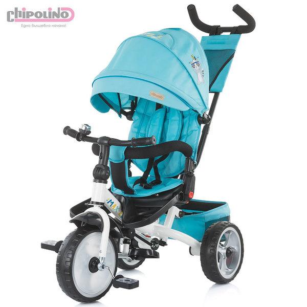 Chipolino Триколка със сенник и родителски контрол MAX RELAX скай