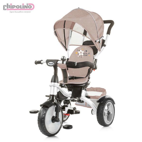 Chipolino Триколка със сенник и родителски контрол Рапидо карамел TRKRA0194CA