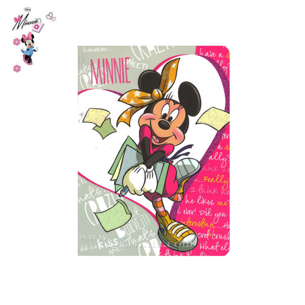 Disney MInnie Mouse Тетрадка А5 Мини Маус 318216