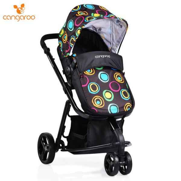 Cangaroo Комбинирана детска количка Sarah черна 104228