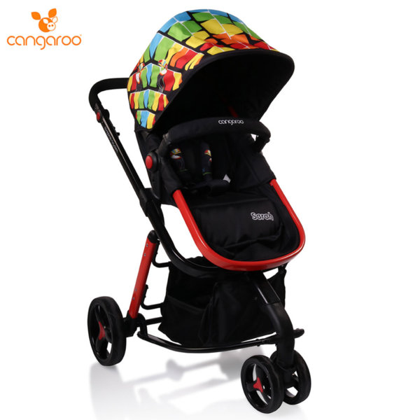 Cangaroo Комбинирана детска количка Sarah мултиколор 106281