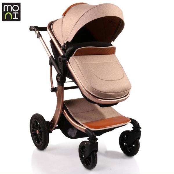 Moni Комбинирана детска количка Sofie бежова 106575