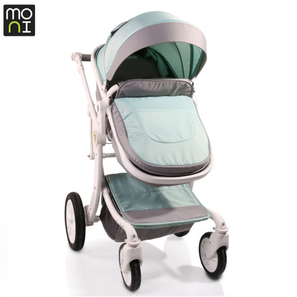 Moni Комбинирана детска количка Sofie зелена 106576