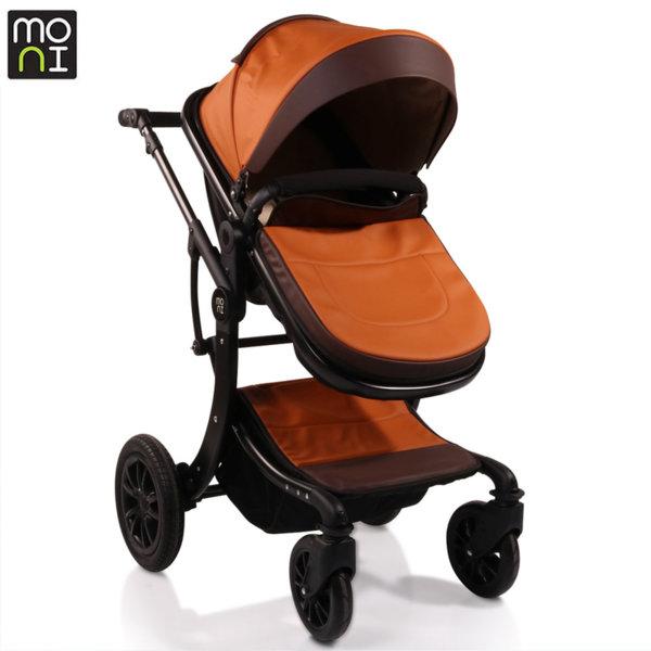 Moni Комбинирана детска количка Sofie кожа 106577