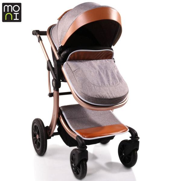 Moni Комбинирана детска количка Sofie сива 106578