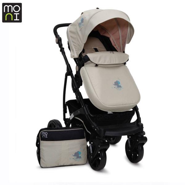 Moni Комбинирана детска количка Tala бежова 103282