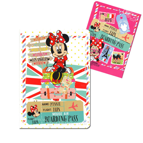 Disney Minnie Mouse Тетрадка А5 Мини Маус 52523 широки редове