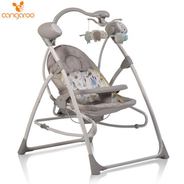 Cangaroo Бебешка електрическа люлка Swing Star Forest 106266