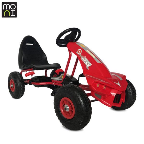 Moni Детска картинг кола Best червена 106276
