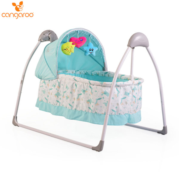 Cangaroo Бебешко кошче люлка Accent синьо 103576