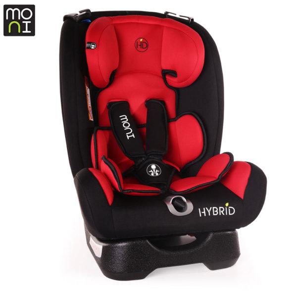 Moni Стол за кола Hybrid (0-36кг) червен 106437