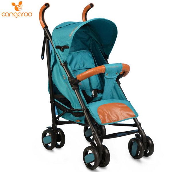 Cangaroo Детска лятна количка Sunny тюркоаз 106298