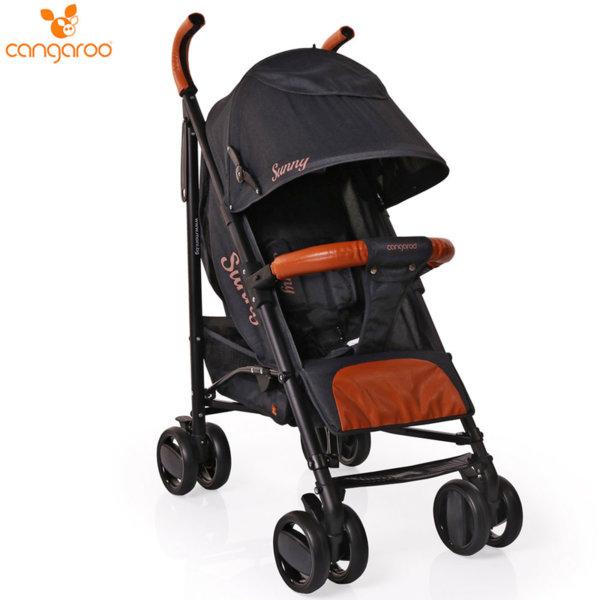 Cangaroo Детска лятна количка Sunny черна 106299