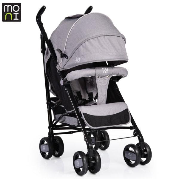 Moni Детска лятна количка Joy сива 104143